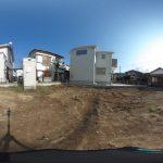 【360パノラマ画像】 上尾市原市 全3棟 2区画 【不動産 / 土地】