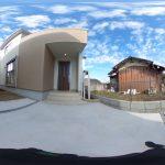 【360パノラマ画像】 上尾市原市 全2棟 1号棟【不動産 / 新築一戸建て】