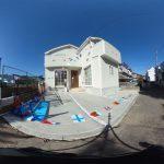 【360パノラマ画像】上尾市大谷本郷第1 全1棟