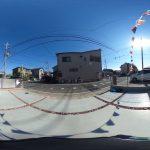 【360パノラマ画像】 上尾市上平中央3丁目 全2棟 1号棟 【不動産 / 新築一戸建て】