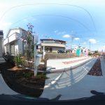 【360パノラマ画像】 上尾市浅間台3丁目 全2棟 1号棟