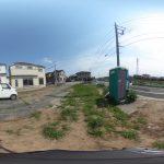 【360パノラマ画像】 上尾市浅間台4丁目 全2区画 F区画 約33坪 【不動産 / 土地】