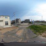 【360パノラマ画像】 上尾市浅間台4丁目 全2区画 G区画 約33坪 【不動産 / 土地】