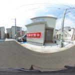 【360パノラマ画像】 上尾市平塚 全12棟 3号棟 【不動産 / 新築一戸建て】