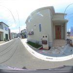 【360パノラマ画像】上尾市地頭方 全4棟 2号棟 【不動産 / 新築一戸建て】
