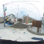 【360パノラマ画像】 上尾市平塚 全12棟 4号棟 【不動産 / 新築一戸建て】