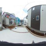 【360パノラマ画像】 上尾市上町2丁目 全4棟 A号棟 【不動産 / 新築一戸建て】