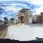 【360パノラマ画像】 上尾市中妻3丁目 全3棟 1号棟 【不動産 / 新築一戸建て】