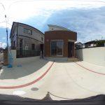 【360パノラマ画像】 桶川市朝日3丁目 全1棟 【不動産 / 新築一戸建て】
