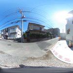 【360パノラマ画像】 上尾市弁財2丁目 全1棟 【不動産 / 新築一戸建て】