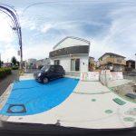 【360パノラマ画像】 上尾市向山2丁目 全2棟 1号棟 【不動産 / 新築一戸建て】