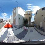 【360パノラマ画像】上尾市壱丁目 全5棟 2号棟 【不動産 / 新築一戸建て】