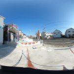 【360パノラマ画像】 上尾市中妻5丁目 全22棟 19号棟 【不動産 / 新築一戸建て】