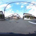 【360パノラマ画像】 上尾市小泉 50坪 【不動産 / 土地】