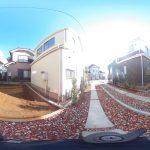 【360パノラマ画像】上尾市上 全4棟 B号棟 【不動産 / 新築一戸建て】